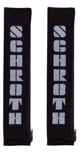 Schroth 9109 Gurtpolster 50mm schwarz/Silber