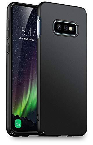 Preisvergleich Produktbild vau Hülle passend für Samsung Galaxy S10e - Slim Shell Case Handyhülle Schutzcase dünn schwarz (kompatibel zu Galaxy S10 e Lite)