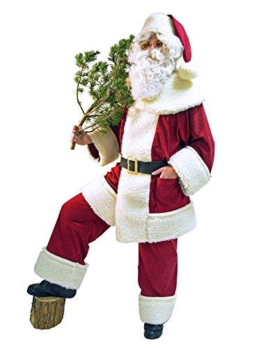 Panelize Heilige Nikolaus Weihnachtsmann professionelles Kostüm aus Deutscher Herstellung
