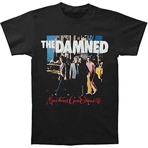 The Damned T-shirt, Machine Gun Etiquette, S to 3XL