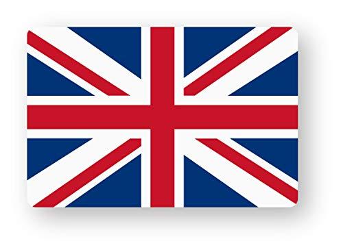 NEW 国旗ステッカー(イギリス) SSサイズ 2枚組 再帰反射 耐水 フラッグ 英国 MINI ユニオンジャック イギリスSS(2)