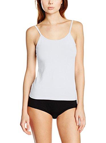 EVEN 683/Pack 3, Camiseta Interior para Mujer, Blanco (White), X-Large