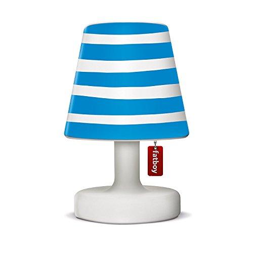 Fatboy® Edison the Petit + Cooper Cappie mr blue | Tischlampe / Outdoor Lampe / Nachttischlampe | Kabellos & per USB Aufladbar