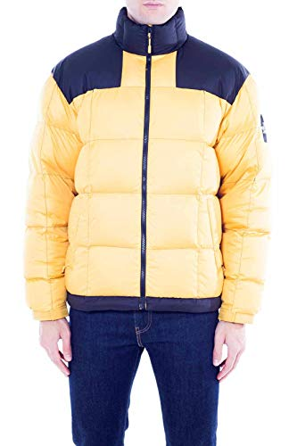 The North Face - Piumino Uomo Lhotse Giallo con Inserti Neri - Taglia M