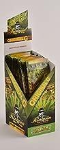 100 Wraps Display of Natural KingPin Hemp Wraps Original G Flavor + XL Beamer Doob Tube Pure Hemp Non Tobacco (25 Packs of 4) + Beamer Smoke Sticker