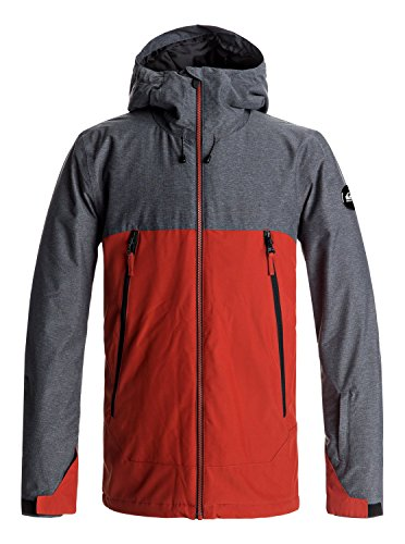 Quiksilver Sierra - Snow Jacket for Men - Snow Jacke - Männer - M - Rot