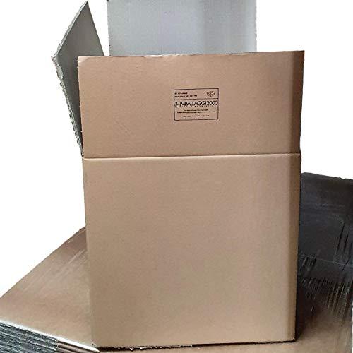 IMBALLAGGI 2000 - Scatola Di Cartone Doppia Onda Imballi 35X25X25 pz 10
