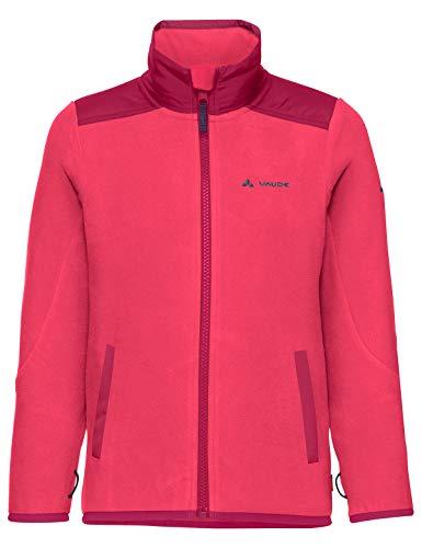 VAUDE Kinder Racoon Fleece Jacke, bright pink, 98