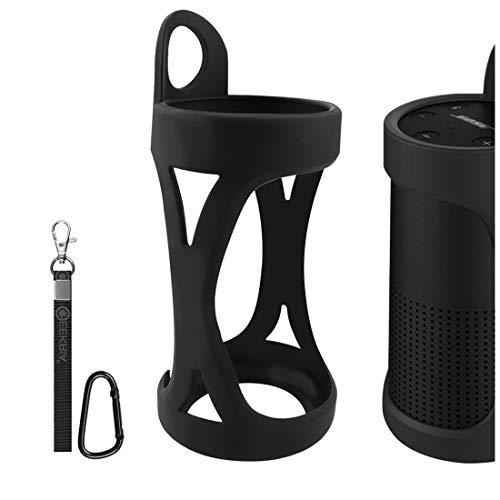 Geekria Bose SoundLink Revolve - Funda de silicona para altavoz Bluetooth inalámbrico...