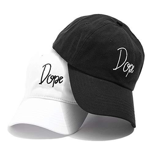【16DP-SP182H】 ドープ DOPE 帽子 キャップ ローキャップ ボールキャップ CAP (02)黒 Fサイズ(男女兼用)