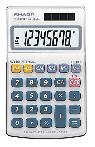 Sharp EL-250 S Taschenrechner