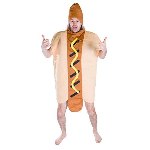 Bodysocks® Disfraz de Hot Dog Adulto