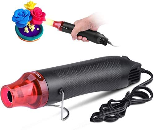 ETEPON Mini Heat Gun Electric 300W Portable Hot Air Gun for DIY Craft Embossing Shrink Wrapping product image