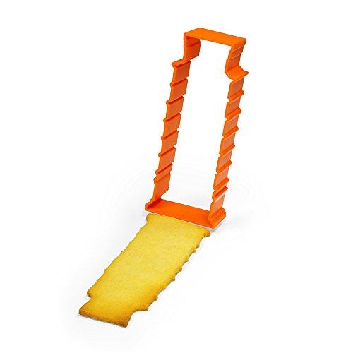Schiefer Turm von Pisa Souvenir & Ausstechform in orange