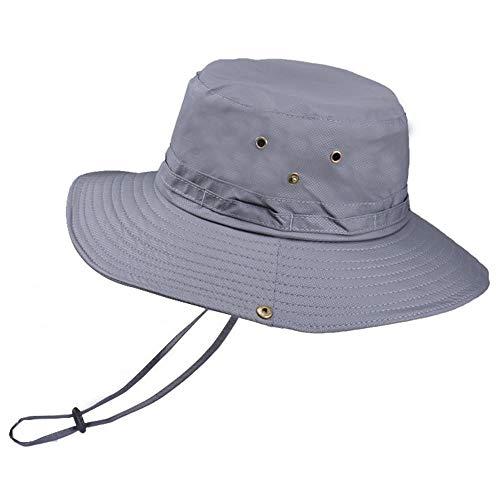 Générique Chapeau de Protection UV Chapeau Large Bonnet de Pluie Bonnet Pliant à SéChage Rapide Convient Aux Hommes et Aux Femmes Qui Font de la RandonnéE, de La RandonnéE, de la PêChe, Etc.