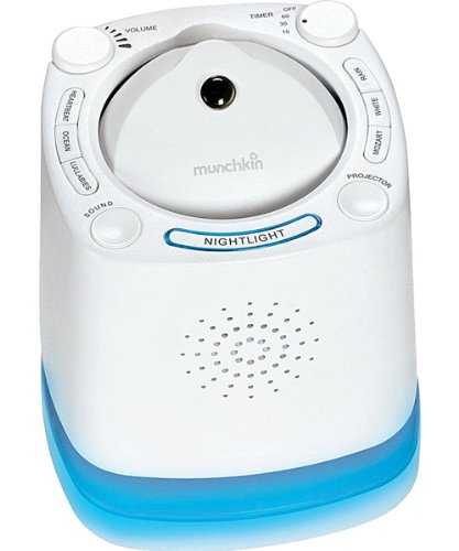 Munchkin Nursery Projector & Sound System - colors as shown, one size
