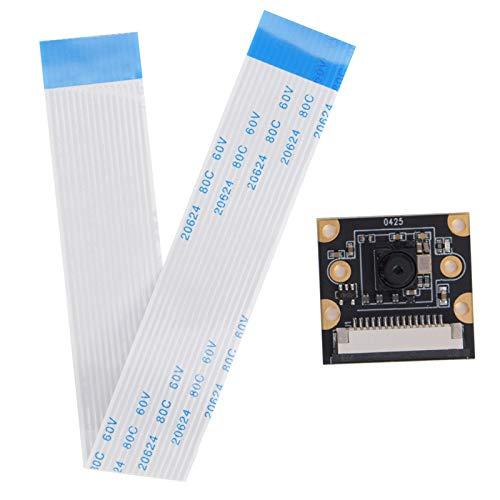 Módulo de cámara de 8MP IMX219 Chip Módulo de cámara de reconocimiento Facial Vigilancia de Video de tamaño pequeño Visualización Nocturna Estable para grabación de Video