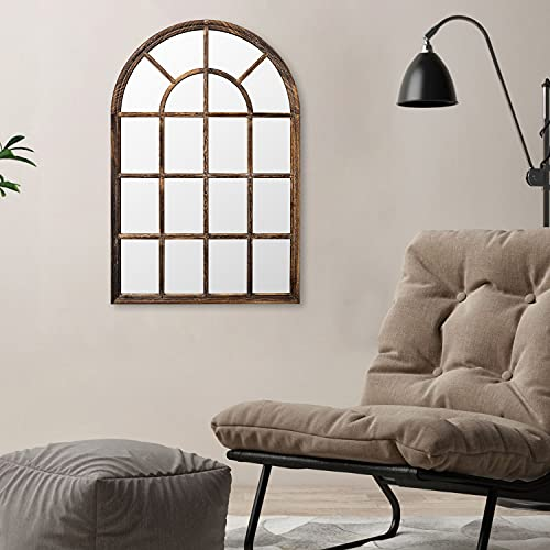 Wood Window Mirror - 24
