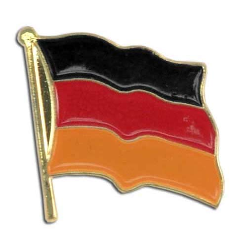 Best Price US Flag Store PIWDE Germany Flag Lapel Pin, Black, Red, Orange, Gold