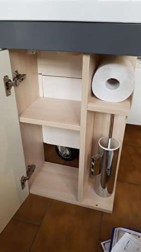 Gäste WC Badmöbel Set WT Waschbecken Bild 6*