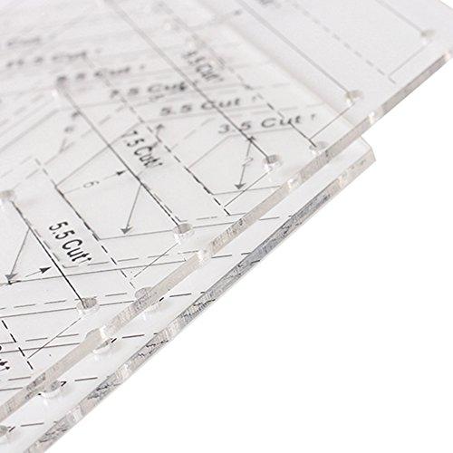 PROKTH® - Lineal für Tagesdecken in Form eines Tages...