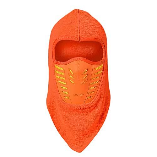 Pasamontañas De Invierno Hombre Máscara de Respiración - Térmico Profesional homologado para Frio, Nieve y Lluvia- Moto, Esquí, Snowboard