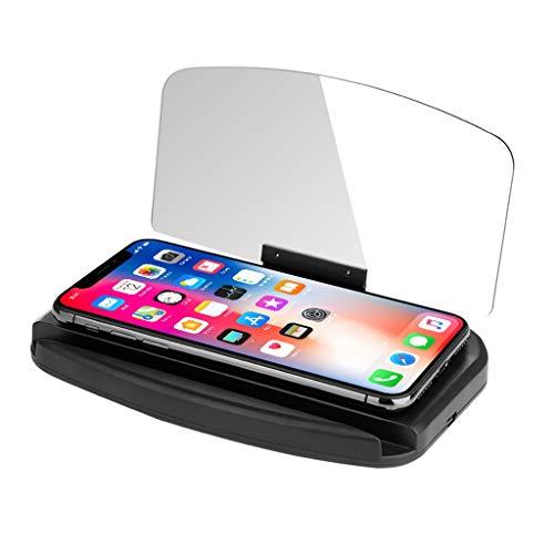 Libobo Mobile Phone Car Holder Windscreen Projector HUD Head Up Display Speedometer