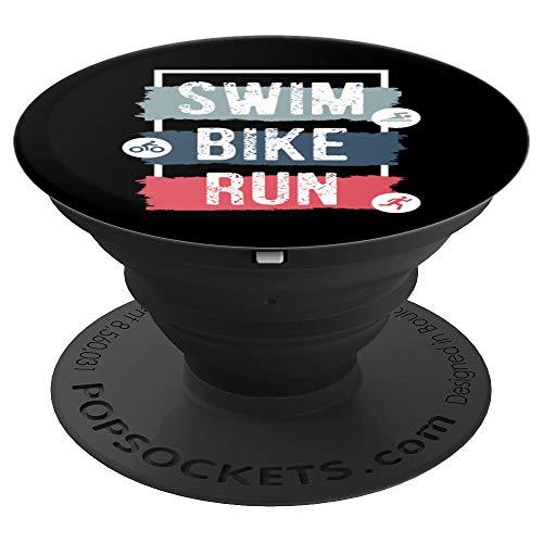Swim Bike Run Athlete Fitness Exercise Race Triathlon Design