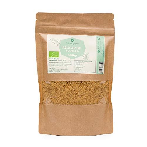 Planeta Huerto | Azúcar de Panela Ecológica de Caña Pura 100% Natural, 1 kg | Alimentos Ecológicos, Sostenibles, Orgánicos, Bio de Alto Aporte Nutritivo y Energético