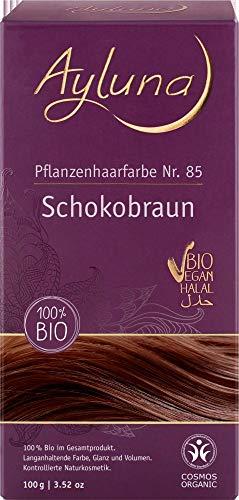 Ayluna Bio Pflanzenhaarfarbe Schokobraun (6 x 100 gr)