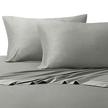 Royal Hotel Silky Soft Bamboo Split-King (2 TXL) Cotton Sheet Set - Gray
