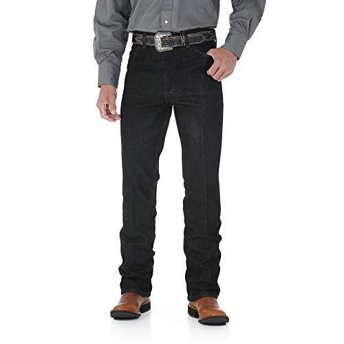 Wrangler Herren Cowboy Slim Fit Stretch Boot Cut Jeans - Schwarz - 42W / 32L