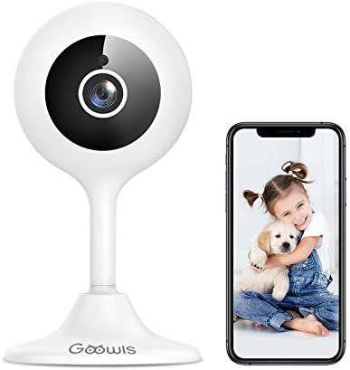 WiFi Camera Indoor Goowls 1080p HD Home Security Camera 2 4GHz Plug in IP Dog Camera for Pet product image