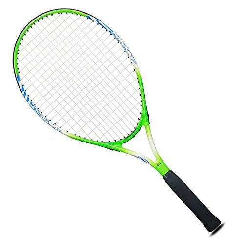 XGGYO Raqueta de Tenis para Niños, 25', Adecuada para Principiantes de 10 a 12 Años/B / 645mm