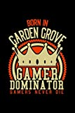 Born in Garden Grove Gamer Dominator: RPG JOURNAL I GAMING Calender  for Students Online Gamers Videogamers  Hometown Lovers 6x9 inch 120 pages lined ... Diary I Gift for Video Gamers and City Kids,