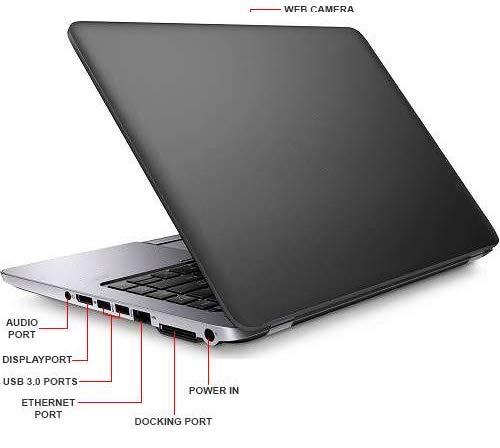 HP EliteBook 840 G1 14-inch Ultrabook (Intel Core i5 4th Gen, 8GB Memory, 512GB SSD, WiFi, Webcam, Windows 10 Professional 64-bit) (Generalüberholt)