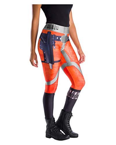 Horror-Shop Original Star Wars Leggings X-Wing Fighter Pilot für Fasching & Motto Party One Size