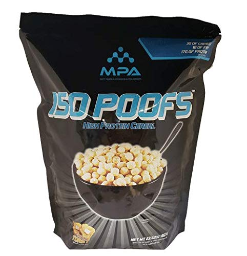 MPA Supps ISO POOFS™ Protein puffs French Toast Flavor, Protein Snack, Low Carb Snack, Low Fat Snack, Whey Isolate