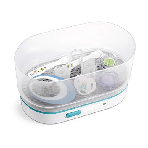 Philips dampfsterilisator sterilisator baby sfc284/02 3 flaschen x 330ml flaschen in 1-6 - 3