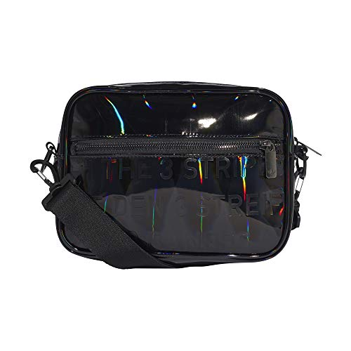adidas IXP41-GD1660 Mochila Mini Airl Pu para Mujer, Negro, Talla Única