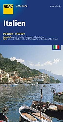 ADAC Länderkarte Italien 1:650.000 (ADAC LänderKarten)