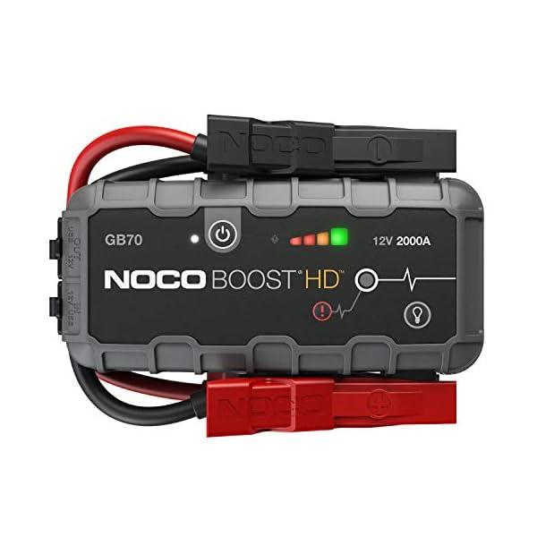 NOCO Boost HD GB70 2000 Amp 12-Volt Ultra Safe Portable Lithium Car Battery Jump...