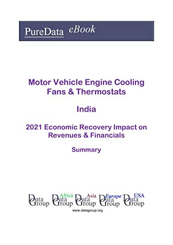 Motor Vehicle Engine Cooling Fans & Thermostats India Summary: 2021 Economic Recovery Impact on Revenues & Financials (English Edition)