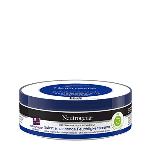Neutrogena Norwegische Formel Feuchtigkeitscreme, sofort einziehend, mit Vitamin E, 6 x 200ml