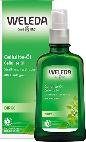 WELEDA Birken Cellulite-Öl, straffendes Naturkosmetik Körperöl für neue Spannkraft und glatte Haut, Wirkung dermatologisch bestätigt und mit angenehmem Duft (1 x 100 ml)