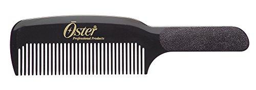 OSTER Barber Black Flat Top Comb For Clipper Over Comb Technique SB-76001-605