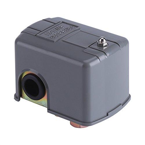 40–60PSI 110V-230V Interruptor de control de presión de bomba de agua de doble resorte ajustable