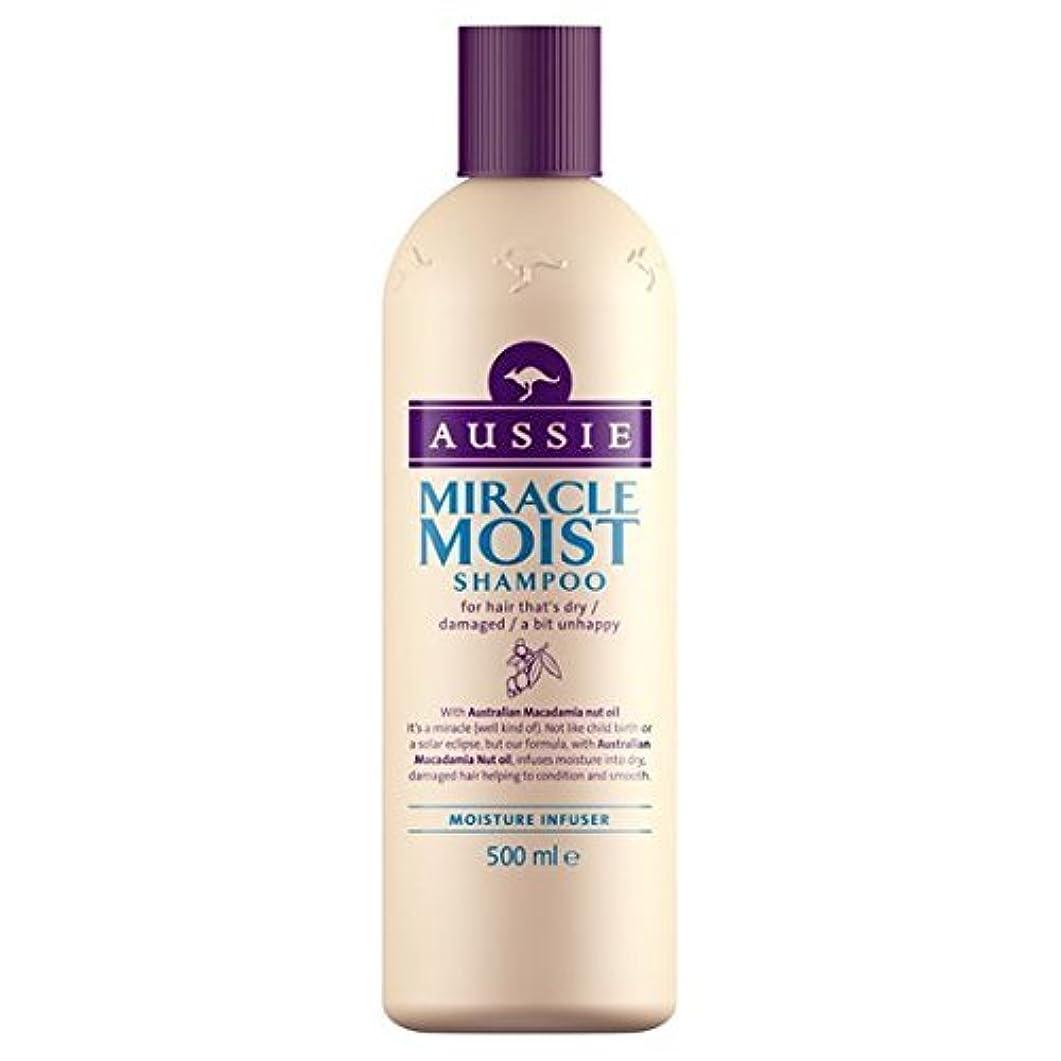 大いに疑い者むさぼり食うAussie Miracle Moist Shampoo (500ml) by Grocery [並行輸入品]