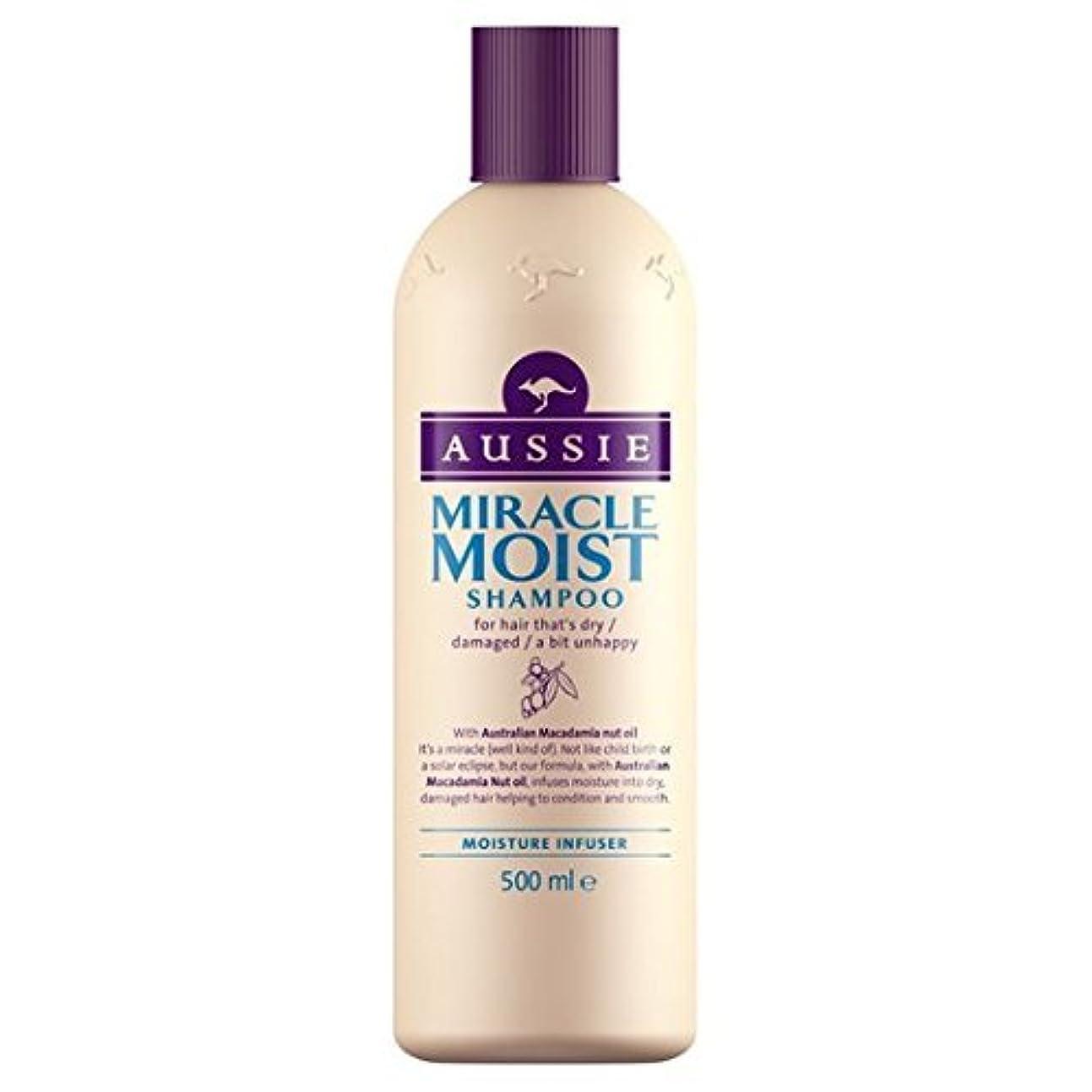 飢え領収書忠実にAussie Miracle Moist Shampoo (500ml) by Grocery [並行輸入品]
