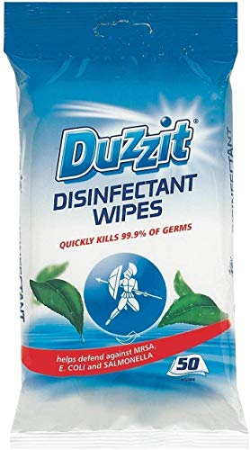 Disinfectant Wipes - 50 Wipes by Duzzit